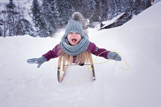 Czapki i kominy zimowe dla dzieci